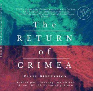 The Return of Crimea